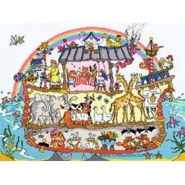 Cut Thru' Noah's Ark - Bothy Threads Cross Stitch