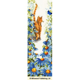 Follow Me 2 Cats Cross Stitch Kit From Bothy Threads