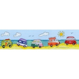 VW Fun - Counted Cross Stitch Kit from Bothy Threads