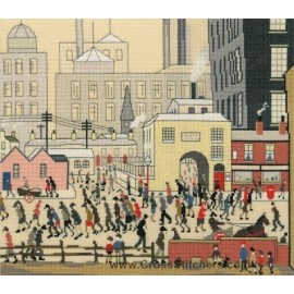 Coming From The Mill - The Lowry Collection Cross Stitch Kit by Bothy Threads